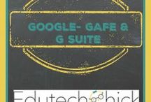 Google GAFE G Suite / google apps for education, g suite, using google in the classroom, GAFE