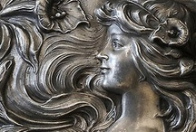 art deco  & art nouveau / take every pin you like,  but please be reasonabable... :) / by Carole Grant