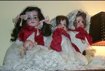 antique dolls #1 bisque / I used to have a nice antique dolls collection, so these are very precious to me... - take every pin you like,  but please be reasonabable... :) / by Carole Grant