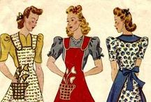 Crafty - Aprons / Aprons are the uniform of the HomeKeeper.   So.  Let's get to work! / by Debra Hofland