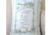 Crafty - Handwork / Embroidery ~ cross stitch ~ redwork ~ scherenschnitte ~ busy work! / by Debra Hofland