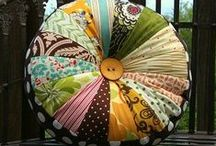 """Crafty - Sewing Projects / """"When it snows, [the wife of noble character] has no fear for her household; for all of them are clothed in scarlet....she makes fine linens and ... sashes"""" Proverbs 31  / by Debra Hofland"""