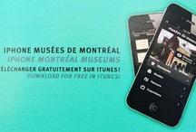 Free Montréal Mobile Apps / A number of the members of the Board of Montreal Museums (BMMD) have launched free mobile applications! ++ Certains des musées membres de la Société des directeurs des musées montréalais (SDMM) ont lancé des applications mobiles gratuites !