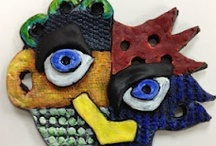 K-12 Clay Projects / Working with clay challenges the hands and mind. It connects one in an intimate dialogue with media. This board includes ideas, inspirations, and instructions for working with clay media. / by Margie Manifold