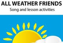 ALL WEATHER FRIENDS ~Educational Song / ALL WEATHER FRIENDS (K-3) is a values-based, curriculum song that helps children to understand the value, meaning, and importance of friendship. *DOWNLOADABLE MP3 SONG PACKAGE:  http://www.teachinabox.com.au/iteminfo.aspx?itemid=343#productInfo