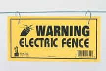 Electric Fence Accessories / Supplies needed to complete an electric fence installation