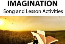 IMAGINATION ~ Educational Song / 'IMAGINATION' (K-4) ~ This reflective song encourages the use of the imagination. It discusses its power, freedom and accessibility, as well as the endless possibilities for creativity when using it. *DOWNLOADABLE MP3 SONG PACKAGE:  http://www.teachinabox.com.au/iteminfo.aspx?itemid=355#productInfo