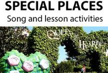 SPECIAL PLACES ~ Educational Song / 'SPECIAL PLACES' (K-3) ~ This catchy song uses familiar fairy tale and nursery rhyme characters, etc. to help children to understand that we all have places that are special to us, and that these places are used for specific activities. *DOWNLOADABLE MP3 SONG PACKAGE:  http://www.teachinabox.com.au/iteminfo.aspx?itemid=384#productInfo