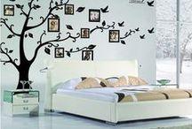 Muurstickers woonkamer / Mooie muurstickers voor in de woonkamer