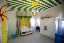 Interiors: Nurseries / by Polka Dot Peacock