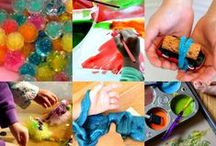 Kid-Friendly Experiments! / Play and explore with easy, at-home experiments that you can do together... / by Children's Museum of Fond du Lac