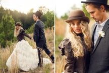 Alternative wedding inspiration / Wedding ideas for couples who like to think outside the box.