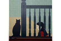 Arte perros y gatos / by Susana Pereira