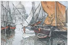 Etchings & Drawings - Seascapes / by Margie Manifold