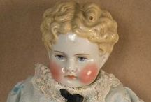 antique doll China doll Parian dolls / take every pin you like, but please be reasonabable... :) / by Carole Grant
