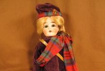 antique doll scottish dolls / take every pin you like,  but please be reasonabable... :) / by Carole Grant