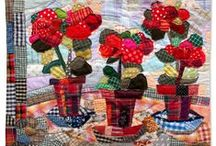 art quilting ♥♥♥ / take every pin you like,  but please be reasonabable... :) / by Carole Grant