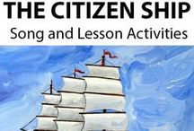 THE CITIZEN SHIP ~Educational Song / THE CITIZEN SHIP (Grades 4-6) ~ This curriculum-based song helps students to understand basic tenets of active citizenship, including: participation, teamwork/co-operation, valuing fair & equitable treatment for all… *DOWNLOADABLE MP3 SONG PACKAGE:http://www.teachinabox.com.au/iteminfo.aspx?itemid=552#productInfo