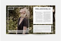 print design & layouts / Type & image, perfectly arranged for the print. / by Katie Amos