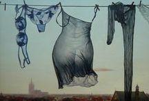 Jolies cordes à linge / by Carole Grant