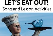 LET'S EAT OUT! / 'LET'S EAT OUT' is a curriculum-based song for MIDDLE & UPPER PRIMARY. It not only discusses the cultural diversity of food choices available, and various methods involved in the preparation of food, it also helps students to develop an appreciation for the talents and services of those who work in the hospitality industry. *DOWNLOADABLE MP3 SONG PACKAGE: http://www.teachinabox.com.au/iteminfo.aspx?itemid=863#productInfo