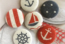 Vintage nautical themed party