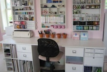 Craft Room - Ideas / These are craft rooms that I love and ideas I would like to use for my craft room.  / by Ronda Sammons Givan