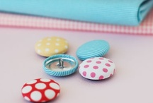 Crafty - Button Ideas / by Ronda Sammons Givan
