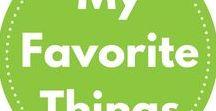 My favorite things!