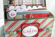 Cards - Holder Ideas / by Ronda Sammons Givan