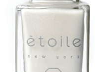 "Soft Ivories & Whites / Inspired by ""Asscher"" - part of our 2012 Wedding Collection / by étoile polish"