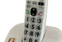 Telephones for Seniors / Popular telephones for seniors featuring amplification, picture dial, and spoken caller ID