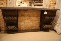 Architectural Salvage Creations / Architectural salvage implemented in furniture and home design elements.