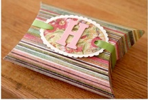 Crafty - Cones, Pillow Boxes & Sour Cream Holder Ideas / by Ronda Sammons Givan