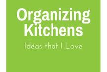 Organizing - Kitchens / Great ideas for Organizing your kitchen
