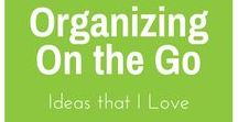 Organizing On the Go