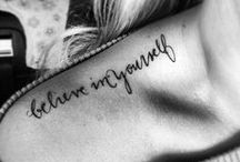 Tattoo Ideas / I am so intrigued by tattoos and their meanings! / by Ro Huntington