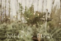 Merry + Happy / Winter time is lovely