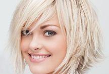 Short hair styles for older women / Fashion