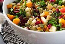 Healthy Salads / Keep it fresh with a delicious salad for any occasion and season.