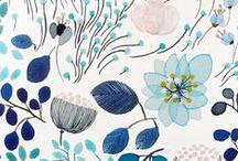 INSPIRATION : pattern / quand l'obsession des jolies papiers peints n'est jamais assouvie / by Studio Rose Flash