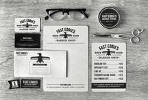 INSPIRATIONS: biz cards / Trouées, avec du glitter, des accents métalliques, découpes... Les plus belles cartes d'affaire du web sont ici!  #businesscards #design / by Studio Rose Flash