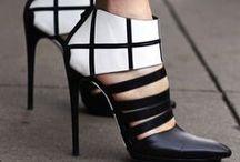 high heels and hair