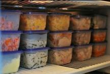 Food -FREEZER MEALS / by Carmen Easter