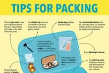 Travel Packing Tips & Inspiration