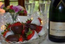 Strawberries, Chocolate and Champagne / :)