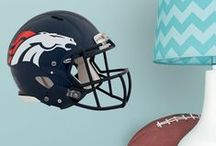 Denver Broncos | Kids DIY Bedroom Home Decor For Boys + Girls | Fathead Wall Decals| Wall Murals / Kids DIY Bedroom Decor For Boys + Girls | Fathead Wall Decals| Wall Murals | Peel + Stick | Your home for all things Denver Broncos. From nursery ideas, man cave inspiration, to game day fashion! Amp up your home with Denver Broncos wall decals! Fathead offers high-quality, DIY, removable, reusable, easy to apply, wall decals for kids' bedrooms. Custom, personalized and sports decals for home décor. SHOP our products at http://www.fathead.com/nfl/denver-broncos/ / by Fathead Wall Decals|Custom Decals | Quotes | Wall Murals |  DIY Removable Kids Bedroom Home Decor