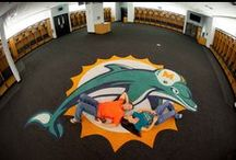 Miami Dolphins – Fins Up / Your home for all things Miami Dolphins From nursery ideas, man cave inspiration, to game day fashion! Amp up your home with Miami Dolphins wall decals! We've got it all, FOR REAL.  / by Fathead