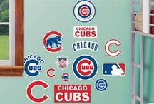 Chicago Cubs Baseball | DIY Bedroom / Chicago Cubs Baseball | DIY Bedroom | Your home for all things Chicago Cubs. From nursery ideas, man cave inspiration, to game day fashion! Amp up your home with Chicago Cubs wall decals! We've got it all, FOR REAL
