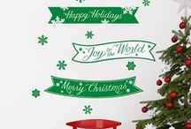 Holiday Decor / Spruce up your home for the Holiday Season with festive wall decals! / by Fathead